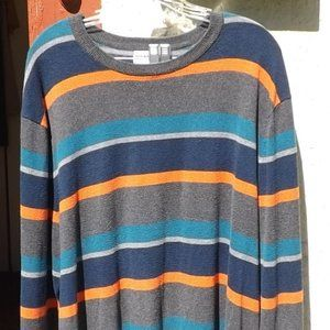 Old Navy Striped Long Sleeve Pullover Sweater